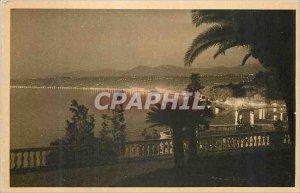 Old Postcard Gabon The lesson Calculation Children