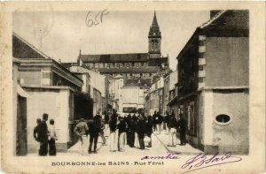 CPA BOURBONNE-les-BAINS Rue Férat (864645)