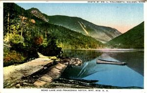 NH - Franconia Notch, Echo Lake