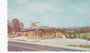 Exterior,  Tulip Valley Motel,  Restaurant,  Wakefield,  Quebec,  Canada,  40...