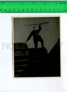 256141 USSR Whiteguard TANK 1930 ADVERTISING Film w Permissive