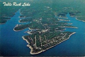 Missouri Aerial VIew Table Rock Lake 1980