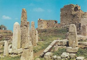 Lebanon Les Ruines Pheniciennes De Byblos Liban Postcard