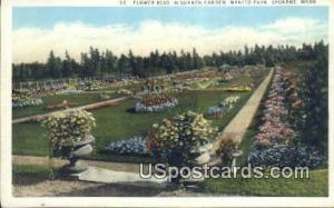 Flower Beds, Sunken Garden