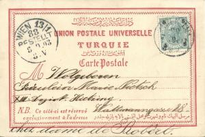 ottoman turkey, Israel Palestine, JERUSALEM, Zion (1903) Stamp
