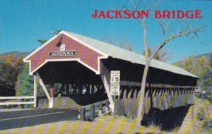 Jackson Covered Bridge Jackson New Hampshire