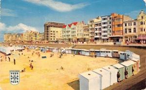 Belgium Middelkerke Strand en Zeedijk, Plage et Digue de Mer Promenade Beach