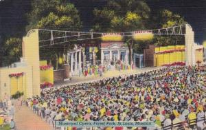 Municipal Opera Forest Park Saint Louis Missouri 1945