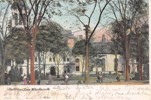 The Old Court House, Wilkes Barre, Pennsylvania, Early Postcard, Used in 1907