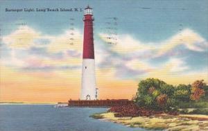Barnegat Lighthouse Long Beach Island New Jersey 1957