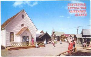 Alaska 67 Centennial Exposition, Fairbanks, AK, chrome