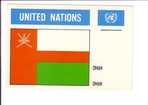 Oman, Flag, United Nations