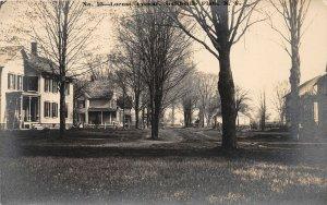 F55/ Smithville Flats New York RPPC Postcard c1910 Locust Avenue Home