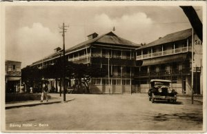 PC CPA MOZAMBIQUE / PORTUGAL, SAVOY HOTEL, BEIRA, VINTAGE POSTCARD (b13398)