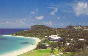 Golf Mill Reef Club 9th Green Antigua West Indies