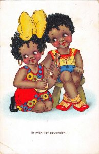 US3045 Ik Mijn lief Gevonden Children Kids Ukulele black americana