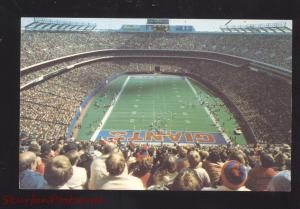 NEW YORK GIANTS NFL FOOTBALL TEAM STADIUM EAST RUTHERFORD NJ VINTAGE POSTCARD