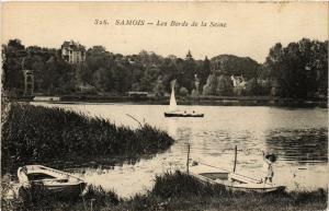 CPA SAMOIS-sur-SEINE - Les Bords de la Seine (638853)