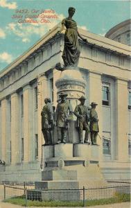 Columbus Ohio~Capital Grounds~Our Jewels~Grant~Sheridan~Sherman~1910
