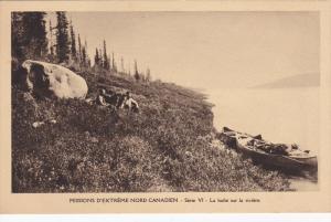 Missions D´Extreme-Nord Canadien, La halte sur la riviere, CANADA, 10-20s