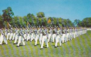 New York West Point The Corps On Parade U S Military Academy