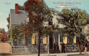 KINGSTON, NY New York  OLD VAN STEENBURGH HOUSE  Ulster County  c1910's Postcard