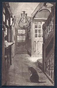 Entrance 'Ye Olde Cheshire Cheese' England Unused c1910s