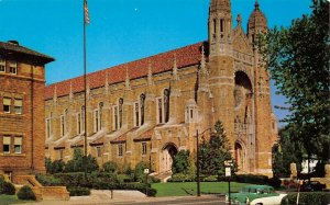LP81    Toledo Ohio  Holy Rosary Cathedral   Postcard