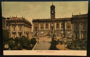 Postcard Unused Rome Italy Campidoglio Alterocca-2231 LB