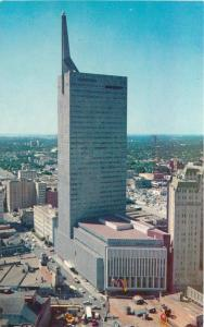 Aerial View DALLAS TEXAS 1950s Republic National Bank Building Crocker 3036