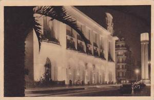 Le Palais De La Mediterranee Vu La Nuit, Nice (Alpes Maritimes), France, 1900...