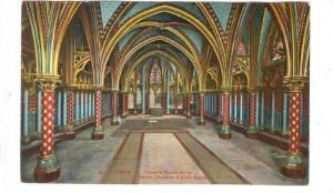 Church Interior; Sainte Chapelle , France , 00-10s #2