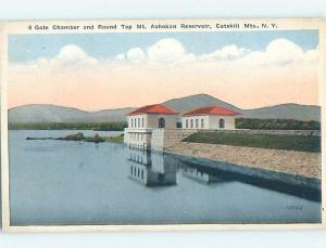 Unused W-Border BUILDING Ashokan Reservoir - Shokan & Woodstock NY hn9416