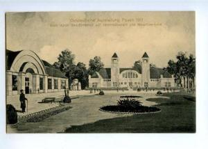 171826 POLAND POZNAN Posen Exibition 1911 year postcard