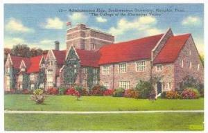 Administration Building, Southwestern University, Memphis, Tennessee, 1930-40s