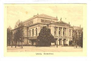 Leipzig. Gewandhaus . Germany, PU-1930