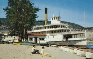 S.S. Sicamous, Okanagan Lake, PENTICTON, British Columbia, Canada, 40-60´