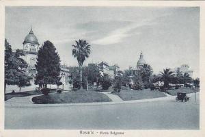 Plaza Belgrano, Rosario, Argentina, 1910-1920s