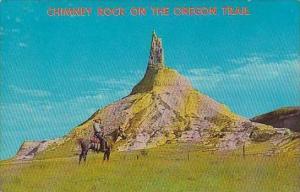 Nebraska Chimney Rock Standing Alone In the Vast Praire  Chimney Rock On The ...
