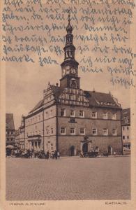PIRNA A. D. ELBE, Saxony, Germany; Rathaus, 00-10s