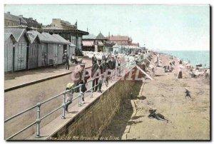 Old Postcard Luke on paersective sea dike