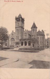 FINDLAY, Ohio, PU-1909; First M.E. Church