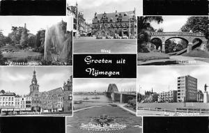 Netherlands Groeten uit Nymegen, Waag Hunnerpark St Stevenstoren Park Waalbrug
