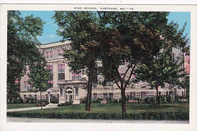 Missouri Carthage The High School