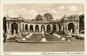 Germany - Berlin, Marchenbrunnen im Friedrichshain (Fountain in Square)