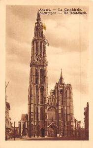 Belgium Anvers La Cathedrale Antwerpen De Hoofdkerk Dom