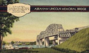 Abraham Lincoln Memorial Bridge Blair NE Unused