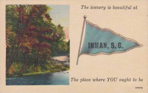 South Carolina Inman The Scenery Is Beautiful At Inman The Place Where You Ou...