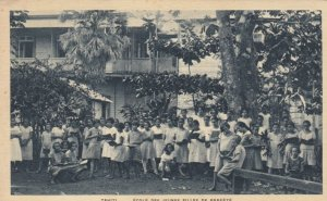 TAHITI - Ecole des Jeunes Filles de PAPEETE , 00-10s