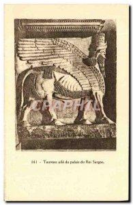 Postcard Old Bull Wing The King Sargon's Palace